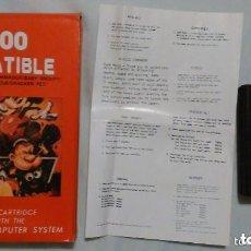 Videojuegos y Consolas: RAREZA UNICA ! CARTUCHO CON 8 JUEGOS NUEVO SIN USO ORIGINAL AÑOS 80 ATARI 2600 EN CAJA. Lote 134011526