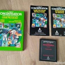 Videojuegos y Consolas: ATARI 2600 JUEGO CONCENTRATION COMPLETO RARO. Lote 134906026