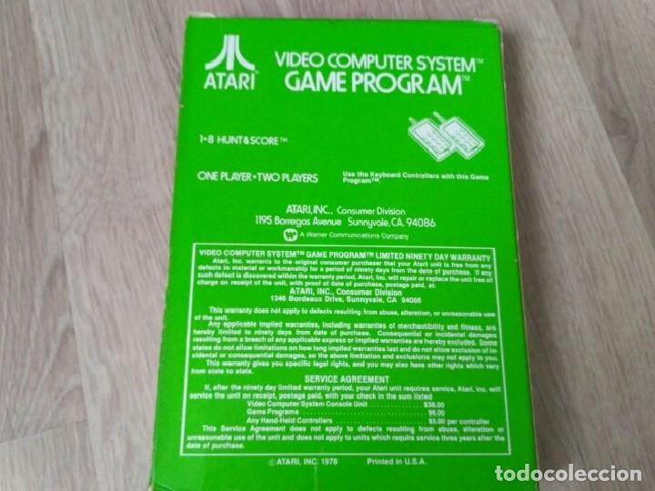 Videojuegos y Consolas: ATARI 2600 JUEGO CONCENTRATION COMPLETO RARO - Foto 3 - 134906026