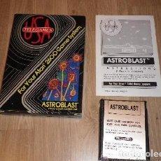 Videojuegos y Consolas: ATARI 2600 JUEGO ASTROBLAST COMPLETO. Lote 134906814