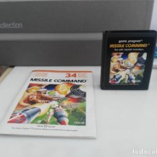Videojuegos y Consolas: ANTIGUO JUEGO PARA ATARI MISSILE COMMAND. Lote 138119614