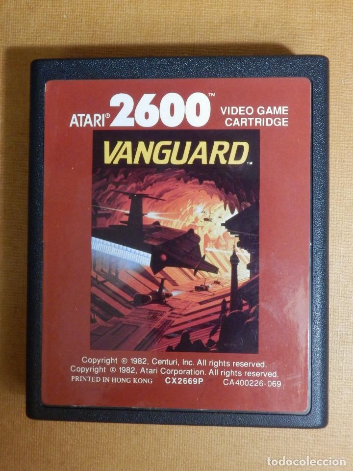 ANTIGUO JUEGO DE CONSOLA - ATARI - 2600 - VIDEO GAME CARTRIDGE CA400225-069 - VANGUARD (Juguetes - Videojuegos y Consolas - Atari)
