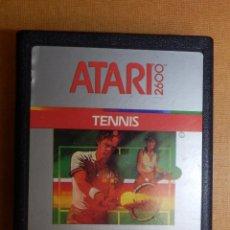Videogiochi e Consoli: ANTIGUO JUEGO DE CONSOLA PARA ATARI 2600 - TENNIS - 1986 ATARI CORP.. Lote 138911334