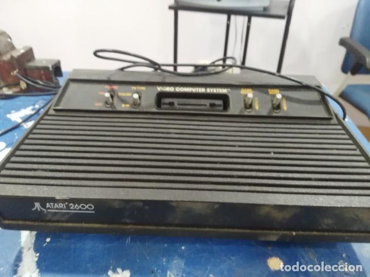 ANTIGUA CONSOLA ATARI 2600 (Juguetes - Videojuegos y Consolas - Atari)