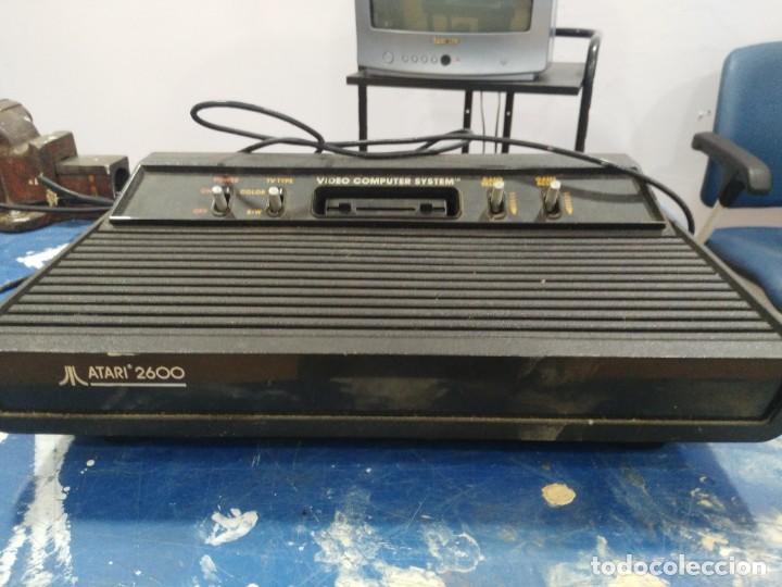 Videojuegos y Consolas: antigua consola atari 2600 - Foto 3 - 139070062
