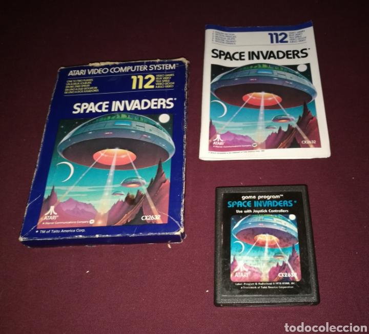 Videojuegos y Consolas: SPACE INVADERS ATARI 2600 - Foto 3 - 139812856