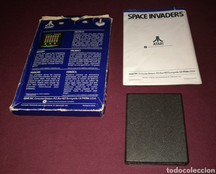 Videojuegos y Consolas: SPACE INVADERS ATARI 2600 - Foto 4 - 139812856