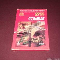 Videojuegos y Consolas: COMBAT ATARI 2600 COMPLETO. Lote 139824826