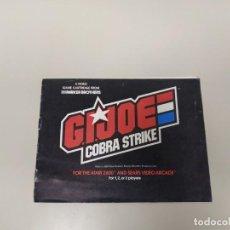 Videojuegos y Consolas: 1118- GI JOE COBRA STRIKE FOR ATARI 2600 GAME INSTRUCTIONS USA 1983 . Lote 140164158