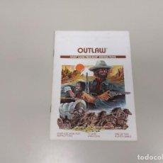 Videojuegos y Consolas: 1118- OUTLAW CX 2605 ATARI GAME INSTRUCTIONS 1978 Nº 2. Lote 140223034