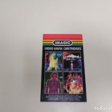 Videojuegos y Consolas: 1118- IMAGIC VIDEO GAME CARTRIDGES FOR ATARI AÑO 1982 CATALOGO Nº 3. Lote 140278170