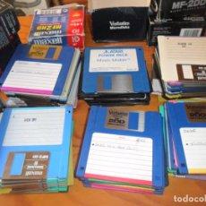 Videojuegos y Consolas: LOTE DE 65 DISQUETES!! - JUEGOS PARA ORDENADOR Y PROGRAMAS, ATARI, AMIGA... VER FOTOS. Lote 140741726