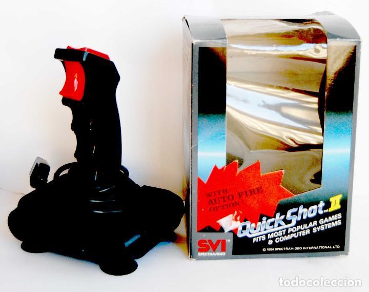 JOYSTICK QUICK SHOT II DE SVI SPECTRAVIDEO QUICK SHOT ATARI SEARS COMOMODORE VIC-20 C64 NEC MANDO (Juguetes - Videojuegos y Consolas - Atari)
