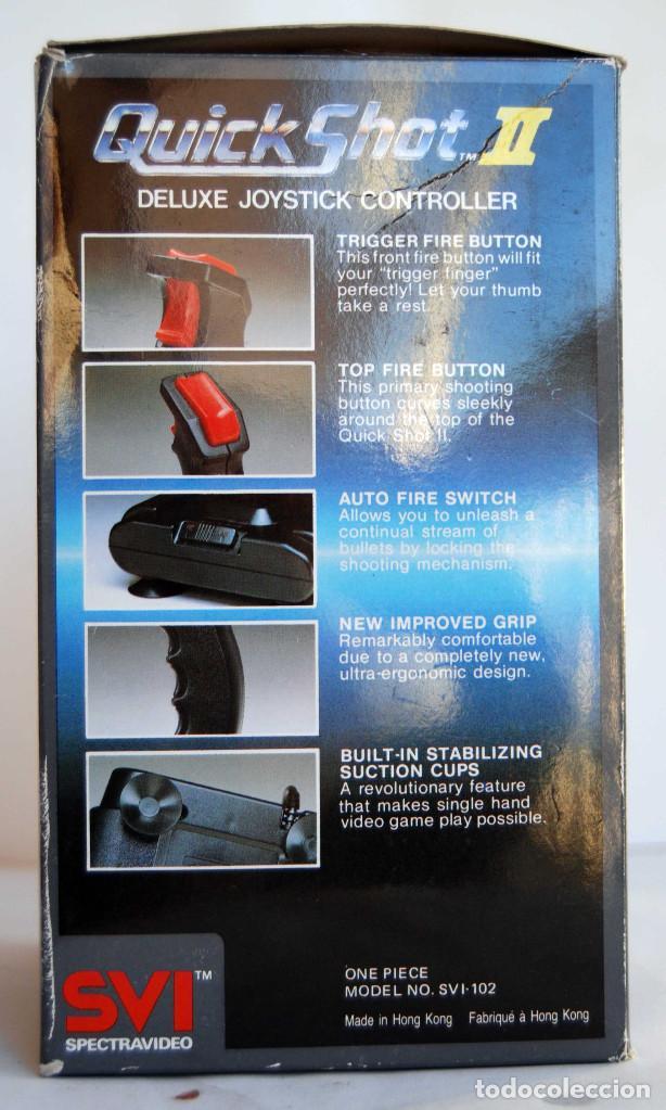 Videojuegos y Consolas: JOYSTICK QUICK SHOT II DE SVI SPECTRAVIDEO QUICK SHOT ATARI SEARS COMOMODORE VIC-20 C64 NEC MANDO - Foto 9 - 140759646