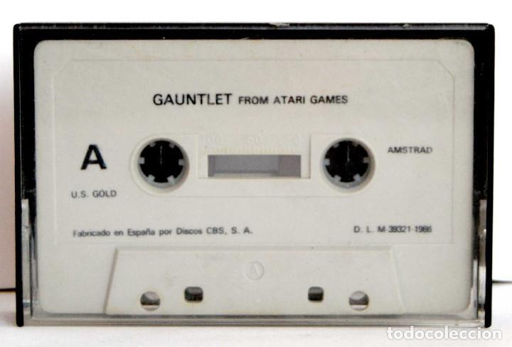 GAUNTLET EN CASSETTE AÑO 1986 PARA ATARI GAMES (Juguetes - Videojuegos y Consolas - Atari)