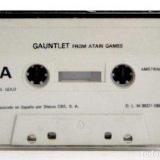 Videojuegos y Consolas: GAUNTLET EN CASSETTE AÑO 1986 PARA ATARI GAMES. Lote 140767718
