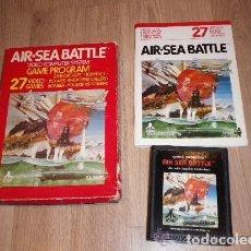Videojuegos y Consolas: ATARI 2600 JUEGO AIR SEA BATTLE COMPLETO. Lote 141138530