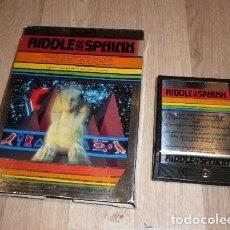 Videojuegos y Consolas: ATARI 2600 JUEGO RIDDLE OF THE SPHINK EN CAJA. Lote 141138902