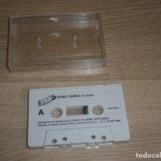 Videojuegos y Consolas: SPECTRUM JUEGO BUBBLE BUBBLE DE OCEAN VERSIÓN ESPAÑOLA DE ERBE 1992. Lote 143078466