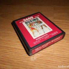 Videojuegos y Consolas: REALSPORTS BOXING - ATARI 2600 Y COMPATIBLES - JUEGO EN CARTUCHO ORIGINAL. Lote 144212542