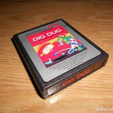 Videojuegos y Consolas: DIG DUG - ATARI 2600 Y COMPAIBLES - JUEGO EN CARTUCHO ORIGINAL. Lote 144213450