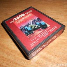 Videojuegos y Consolas: MOON PATROL - ATARI 2600 Y COMPAIBLES - JUEGO EN CARTUCHO ORIGINAL. Lote 144213974