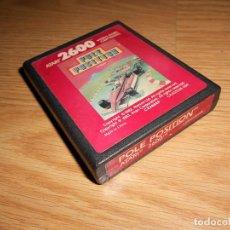 Videojuegos y Consolas: POLE POSITION - ATARI 2600 Y COMPAIBLES - JUEGO EN CARTUCHO ORIGINAL. Lote 144214970