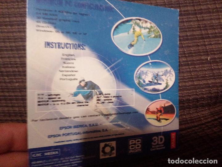 Videojuegos y Consolas: SUPREME SNOWBOARDING ATARI PC CD-ROM .Made in E.U. Año 1999.EPSON. - Foto 2 - 144918038