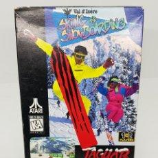Videojuegos y Consolas: JUEGO SKIING AND SNOWBOARDING ATARI JAGUAR - MUY BUEN ESTADO. Lote 148074826