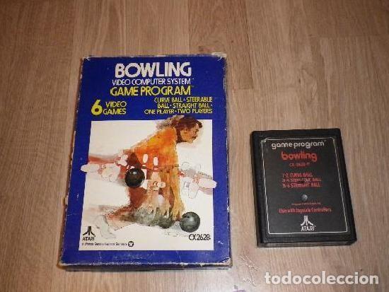 ATARI 266 JUEGO BOWLING 6 VIDEOGAMES EN CAJA (Juguetes - Videojuegos y Consolas - Atari)