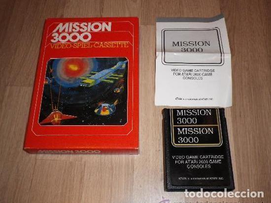 ATARI 2600 JUEGO MISSION 3000 COMPLETO (Juguetes - Videojuegos y Consolas - Atari)