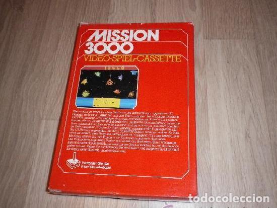 Videojuegos y Consolas: ATARI 2600 JUEGO MISSION 3000 COMPLETO - Foto 2 - 149575546