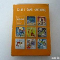 Videojuegos y Consolas: 32 IN 1 GAME - CONSOLA ATARI 2600 - JUEGO CLÁSICO - EN CARTUCHO - RETRO, VINTAGE - FUNCIONA. Lote 151091438