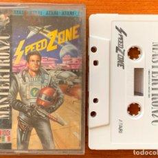 Videojuegos y Consolas: JUEGO ORIGINAL CASETE ATARI SPEED ZONE MASTERTRONIC 1989. Lote 154544190