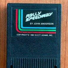 Videojuegos y Consolas: CARTUCHO JUEGO ATARY RALLY SPEEDWAY AÑO 1983. MADE IN USA.. Lote 154545214