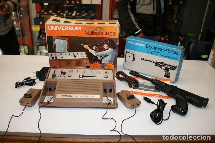 CONSOLA PONG QUELLE UNIVERSUM COLOR MULTISPIEL 4106 (Juguetes - Videojuegos y Consolas - Atari)
