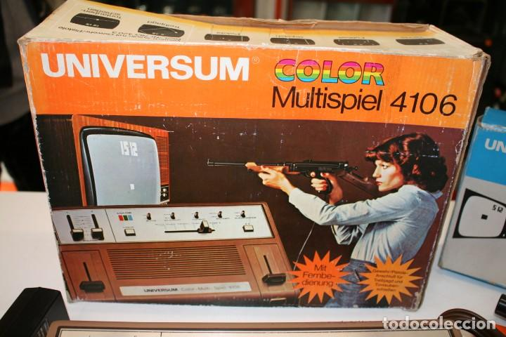 Videojuegos y Consolas: Consola Pong Quelle Universum Color Multispiel 4106 - Foto 2 - 158518082