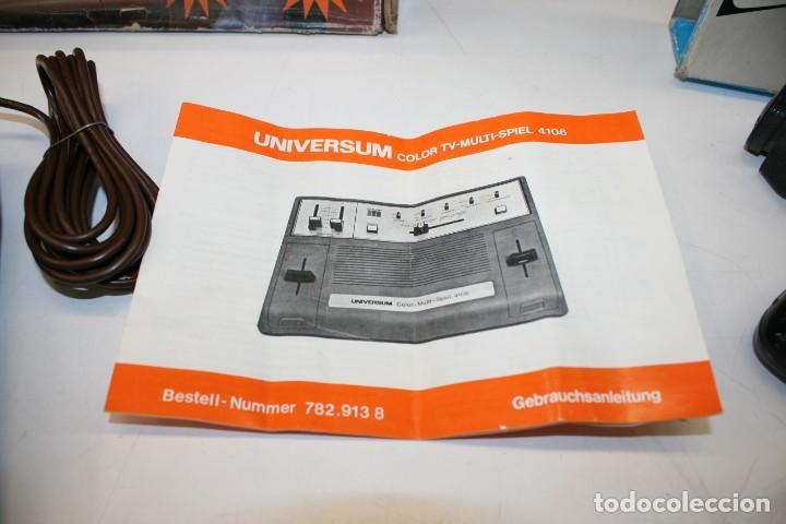 Videojuegos y Consolas: Consola Pong Quelle Universum Color Multispiel 4106 - Foto 7 - 158518082