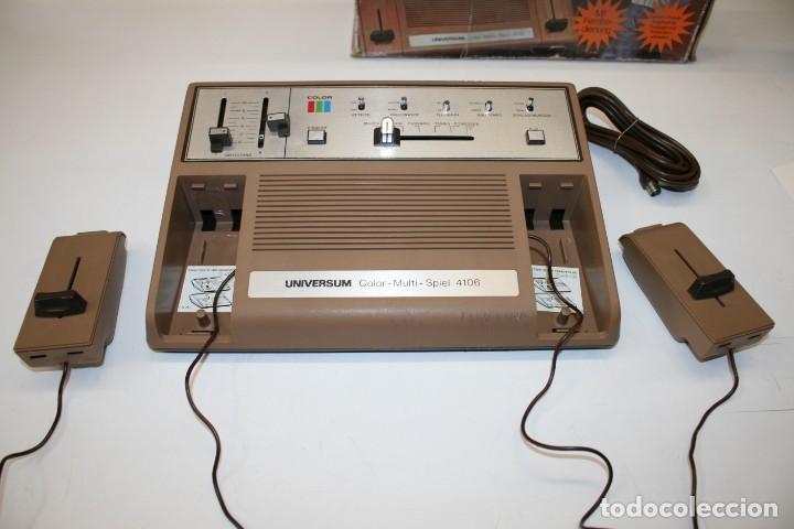 Videojuegos y Consolas: Consola Pong Quelle Universum Color Multispiel 4106 - Foto 8 - 158518082