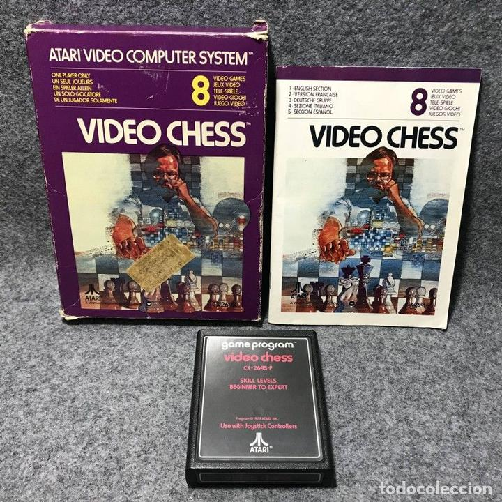 Videojuegos y Consolas: VIDEO CHESS ATARI 2600 - Foto 1 - 158628264