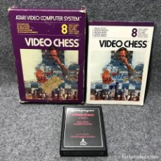 Videojuegos y Consolas: VIDEO CHESS ATARI 2600. Lote 158628264