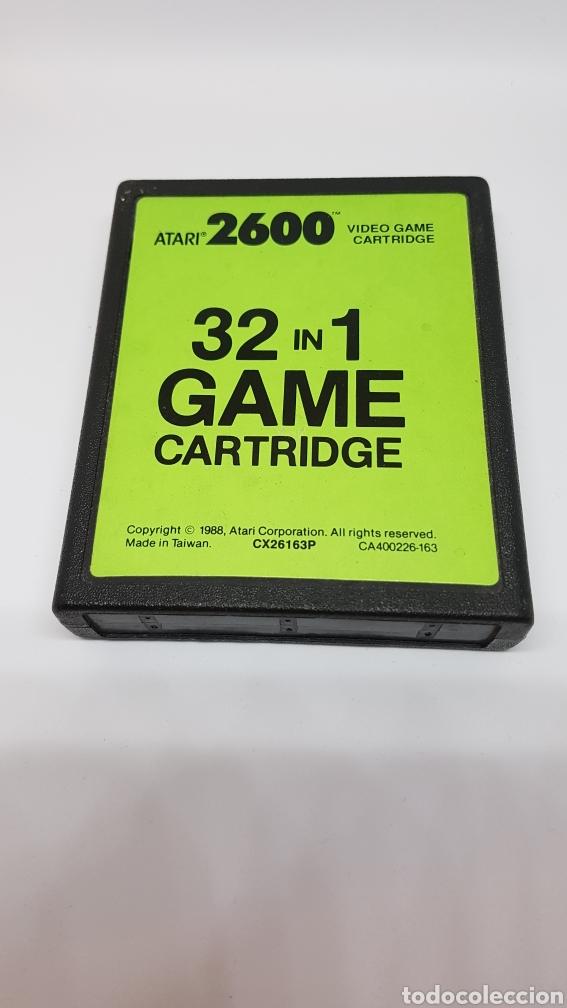 CARTUCHO ATARI 32 JUEGOS. EN PERFECTO FUNCIONAMIENTO. (Juguetes - Videojuegos y Consolas - Atari)