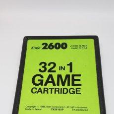 Videojuegos y Consolas: CARTUCHO ATARI 32 JUEGOS. EN PERFECTO FUNCIONAMIENTO.. Lote 160686713