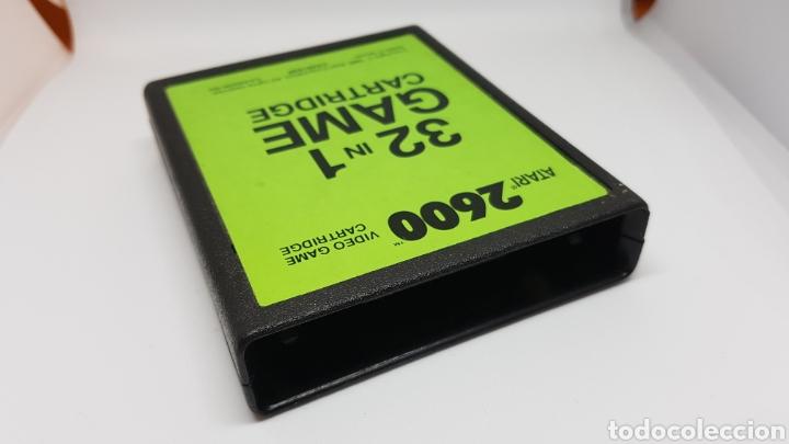 Videojuegos y Consolas: Cartucho Atari 32 juegos. En perfecto funcionamiento. - Foto 2 - 160686713