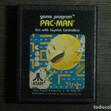Videojuegos y Consolas: JUEGO ATARI 2600 PAC-MAN CARTUCHO - PROBADO - PAL. Lote 161859422