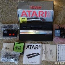 Videojuegos y Consolas: ATARI 2600 JR. ORIGINAL NUEVA NEW CONSOLA CONSOLE CON 1 MANDO RF: B. Lote 162491194