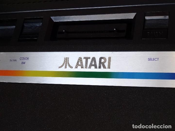 Videojuegos y Consolas: ATARI 2600 jr. original NUEVA NEW Consola Console con 1 mando RF: B - Foto 3 - 162491194