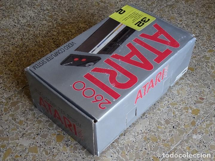 Videojuegos y Consolas: ATARI 2600 jr. original NUEVA NEW Consola Console con 1 mando RF: B - Foto 7 - 162491194