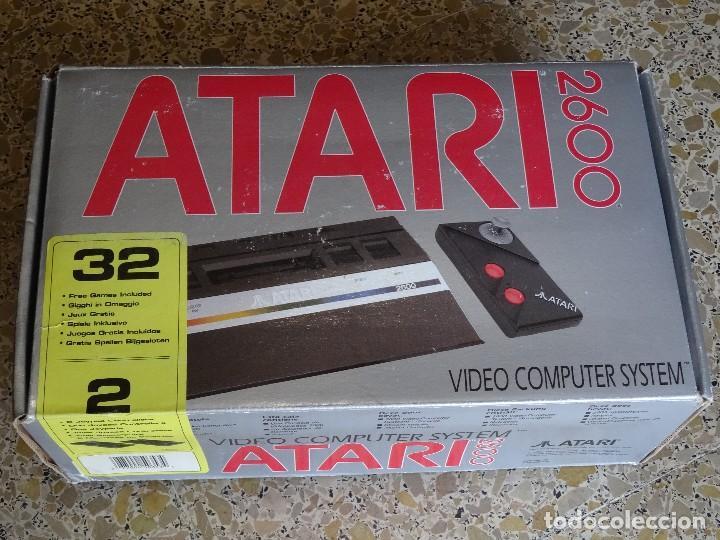 Videojuegos y Consolas: ATARI 2600 jr. original NUEVA NEW Consola Console con 1 mando RF: B - Foto 8 - 162491194