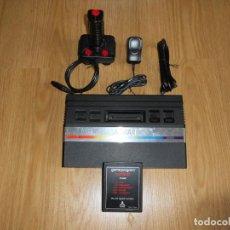 Videojuegos y Consolas: CONSOLA ATARI 2600 JR PAL CON MANDO Y JUEGO. PROBADA Y FUNCIONANDO. Lote 162974438